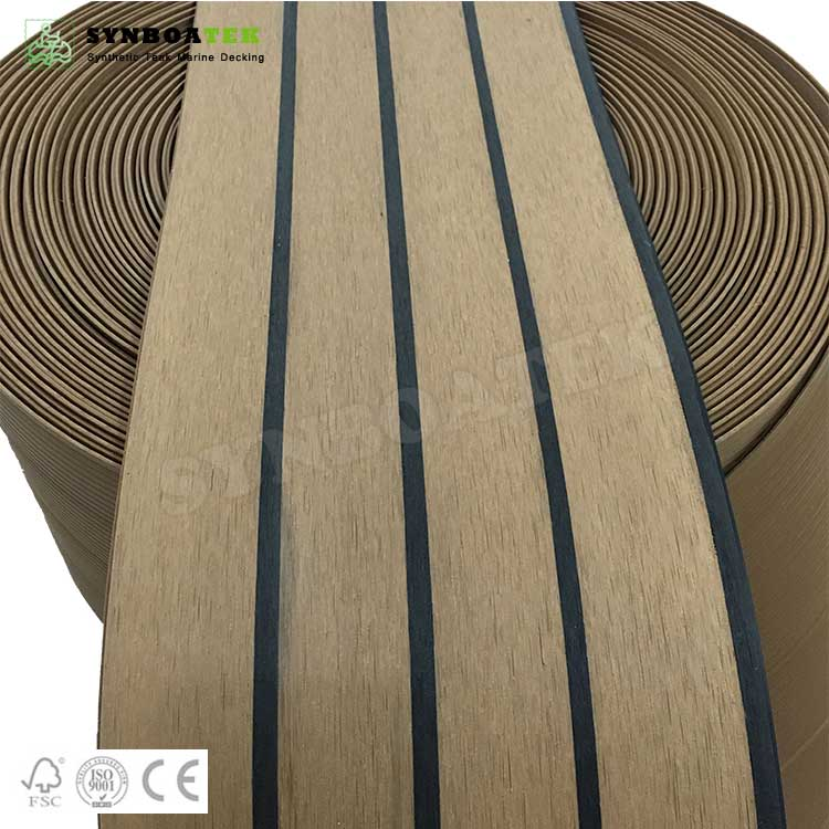 QZ-STB PVC Soft Deck Flooring For Yacht