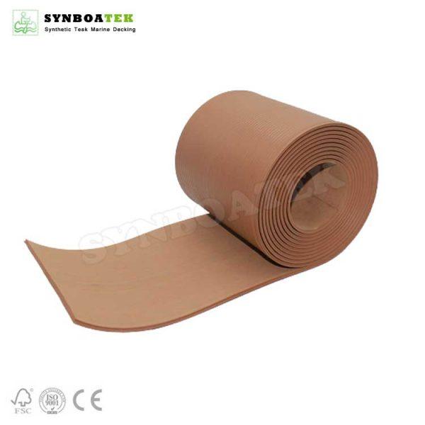 Anti Slip Synthetic Teak Pvc Deck