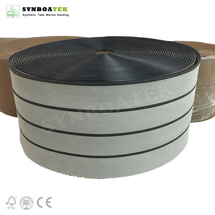 QZG-STB Embossing And Sanding Soft PVC Boat Decking