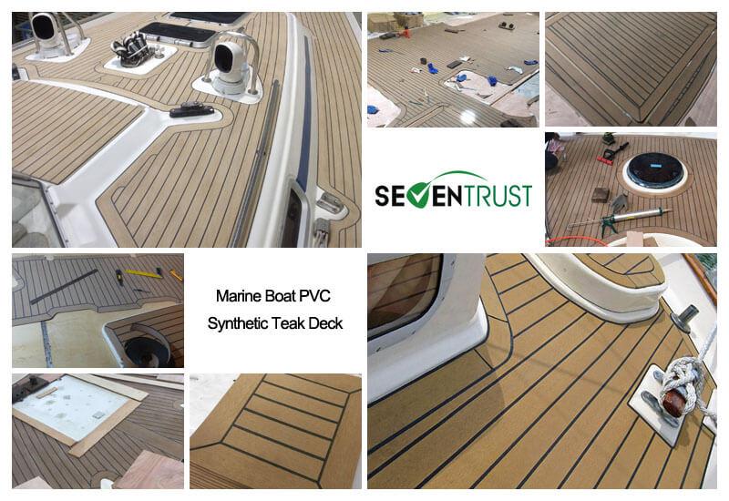 25M Marine Boat PVC Synthetic Teak Deck